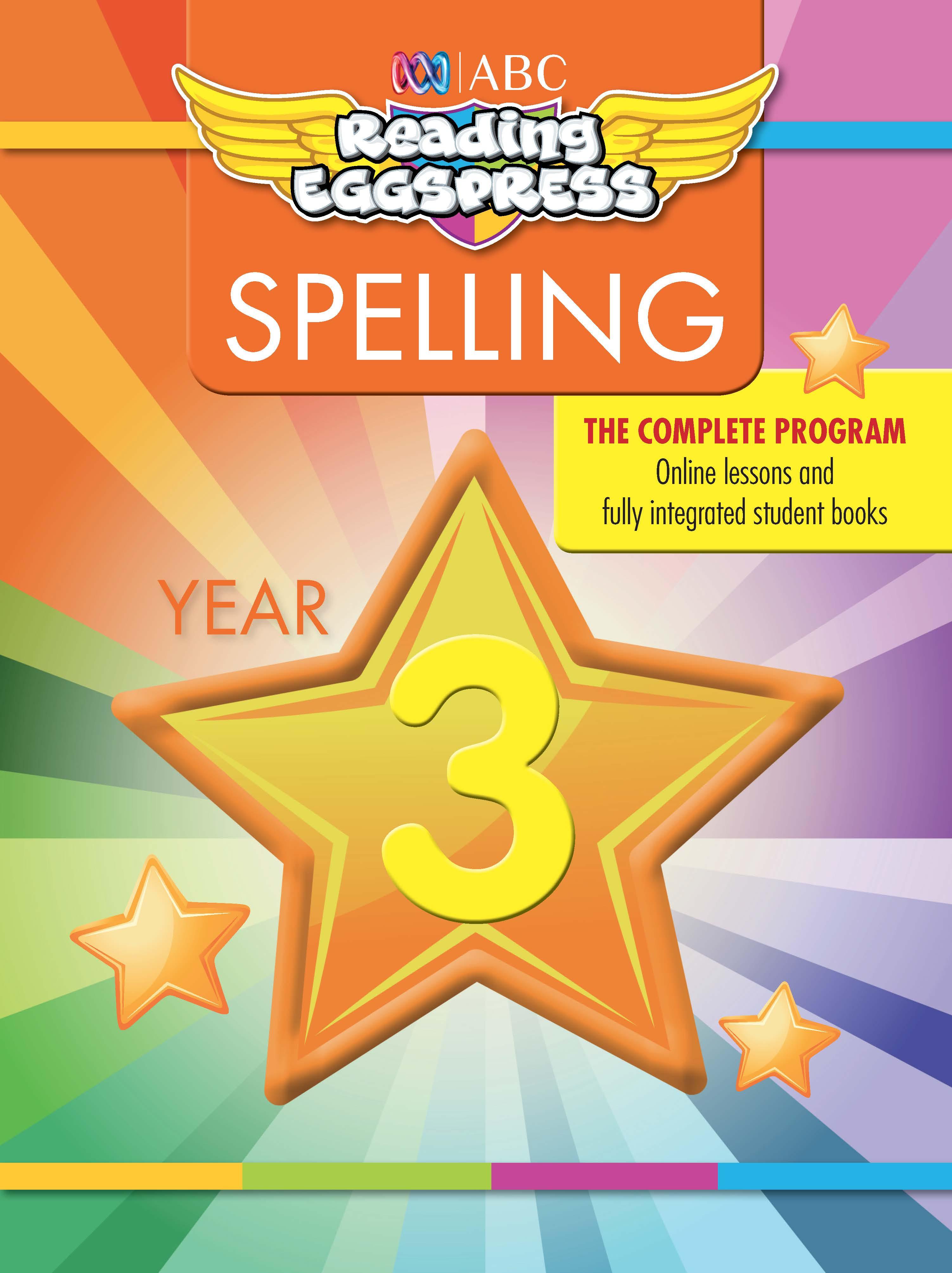 ABC Reading Eggspress Spelling Workbook Year 3