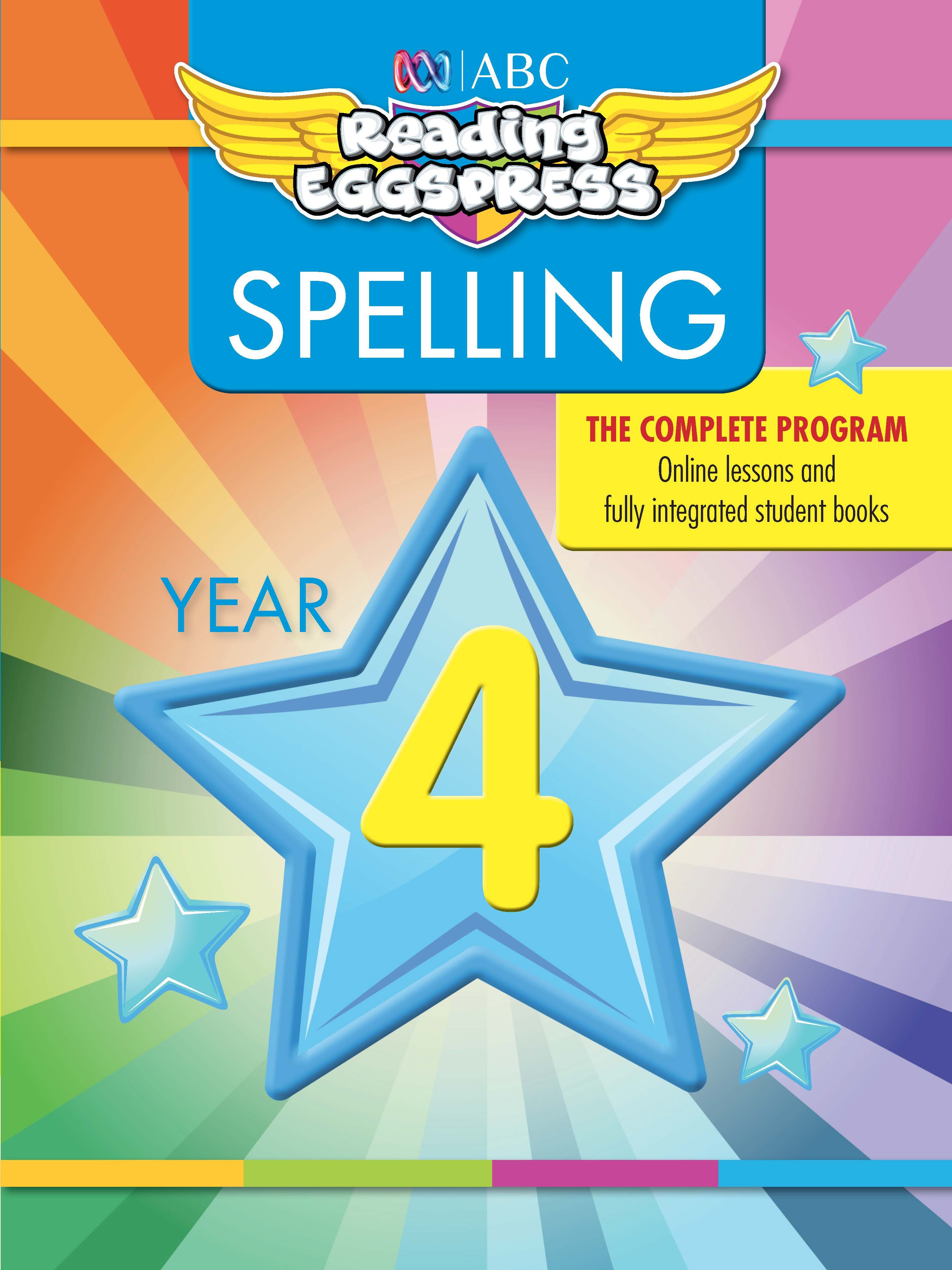 ABC Reading Eggspress Spelling Workbook Year 4