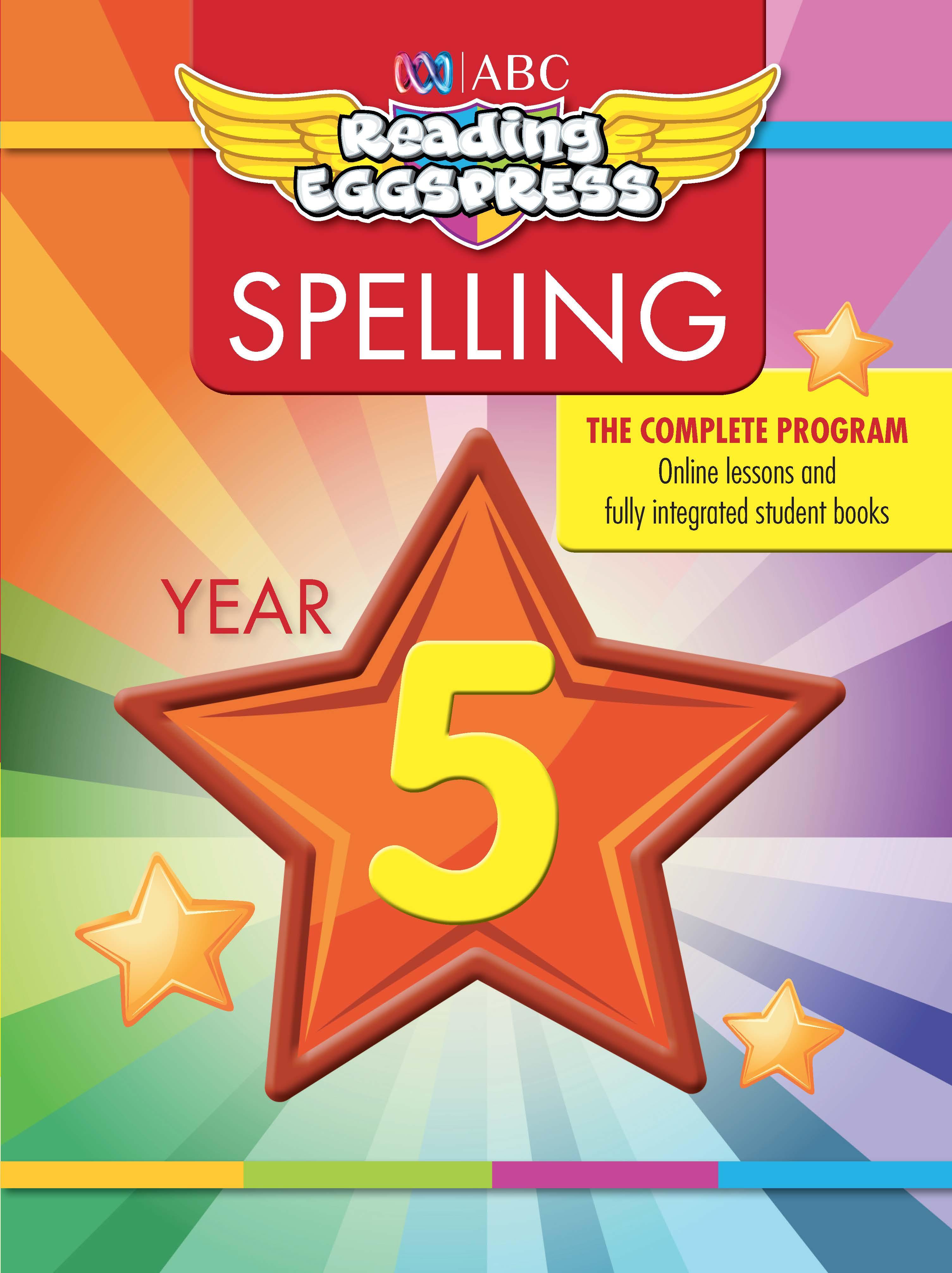ABC Reading Eggspress Spelling Workbook Year 5