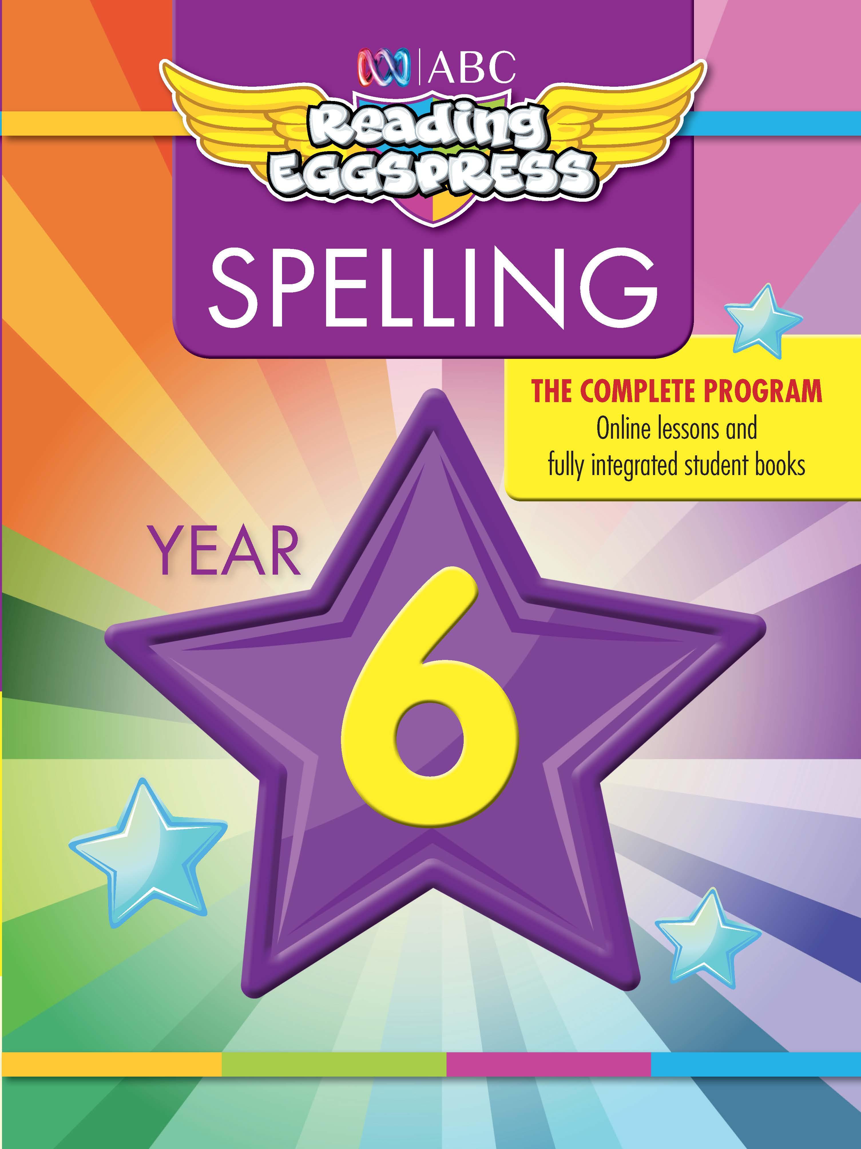 ABC Reading Eggspress Spelling Workbook Year 6