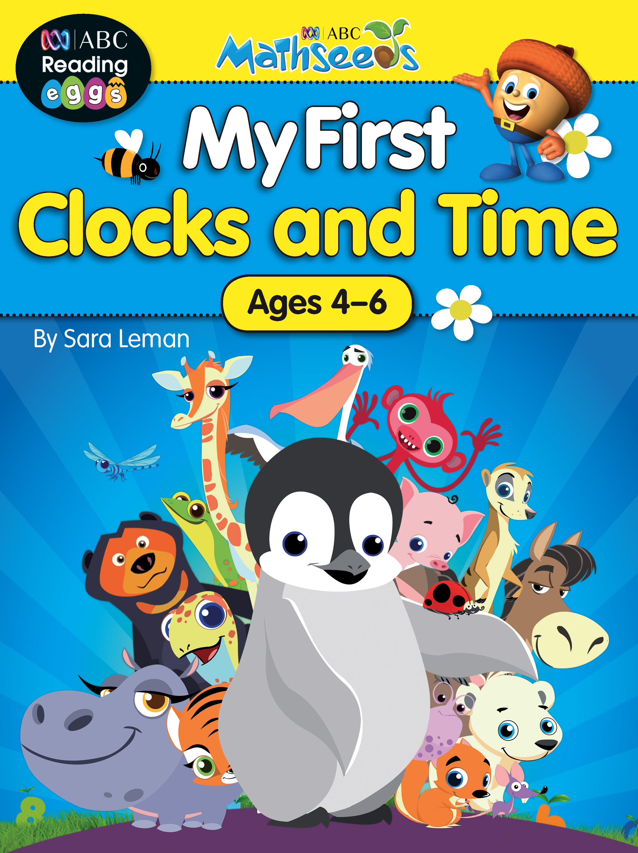 ABC Mathseeds My First Clocks and Time Activity Book