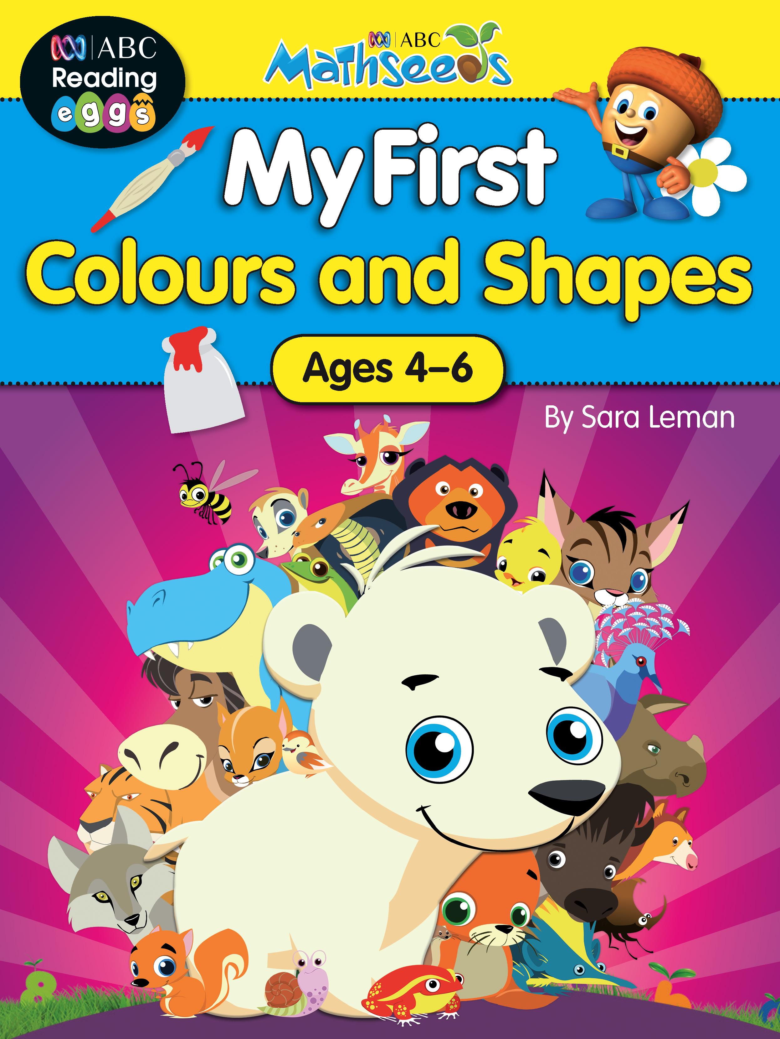 ABC Mathseeds My First Colours Activity Book