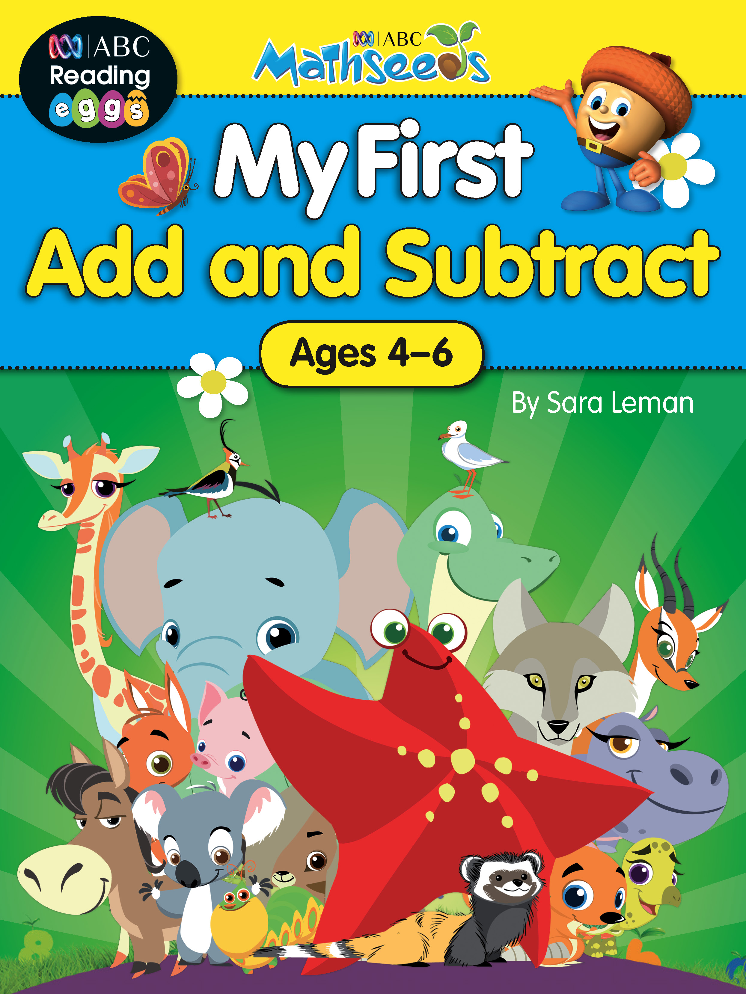 ABC Mathseeds My First Addition and Subtraction Activity Book