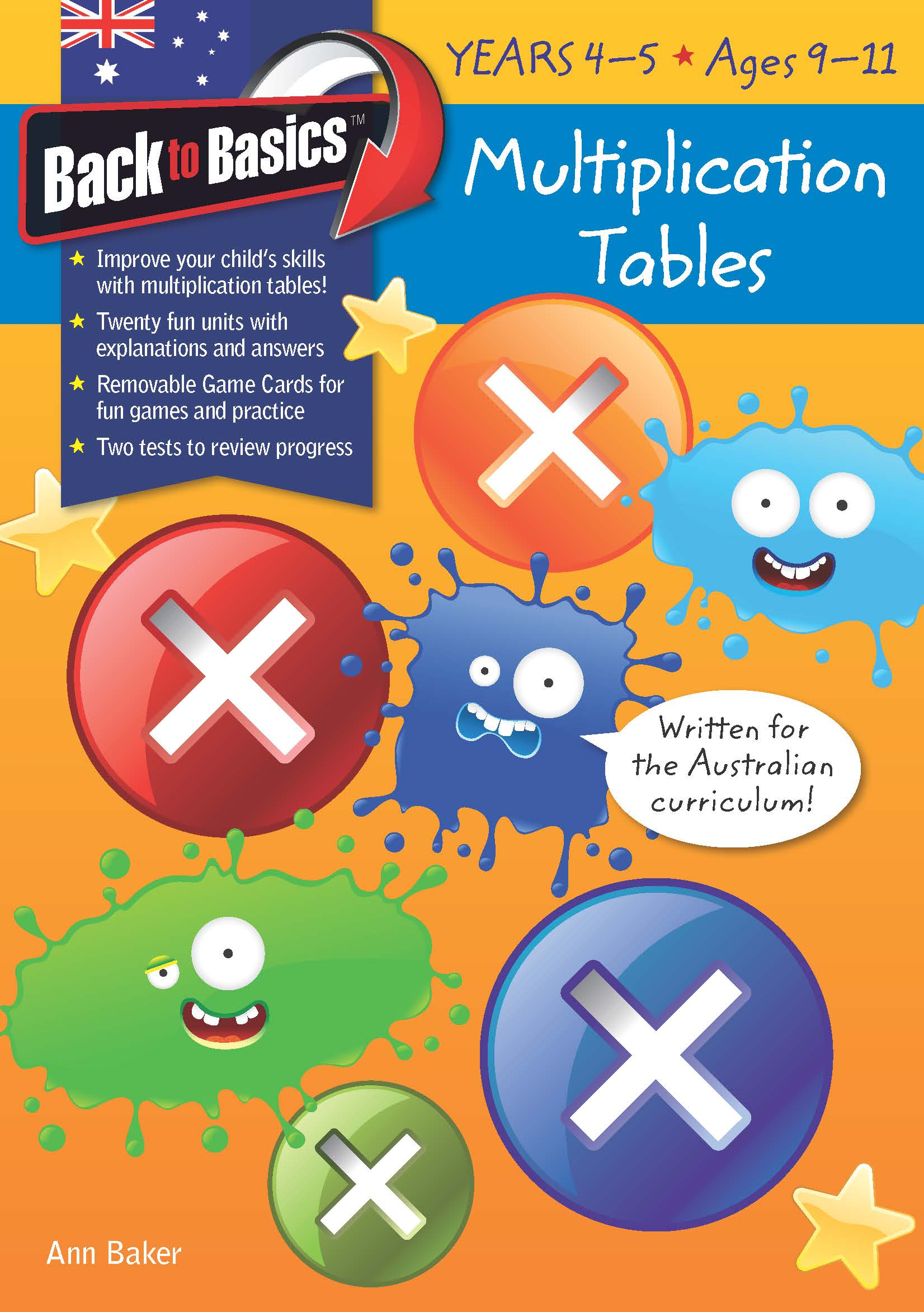 Back to Basics - Multiplication Tables book 2 Years 4-5