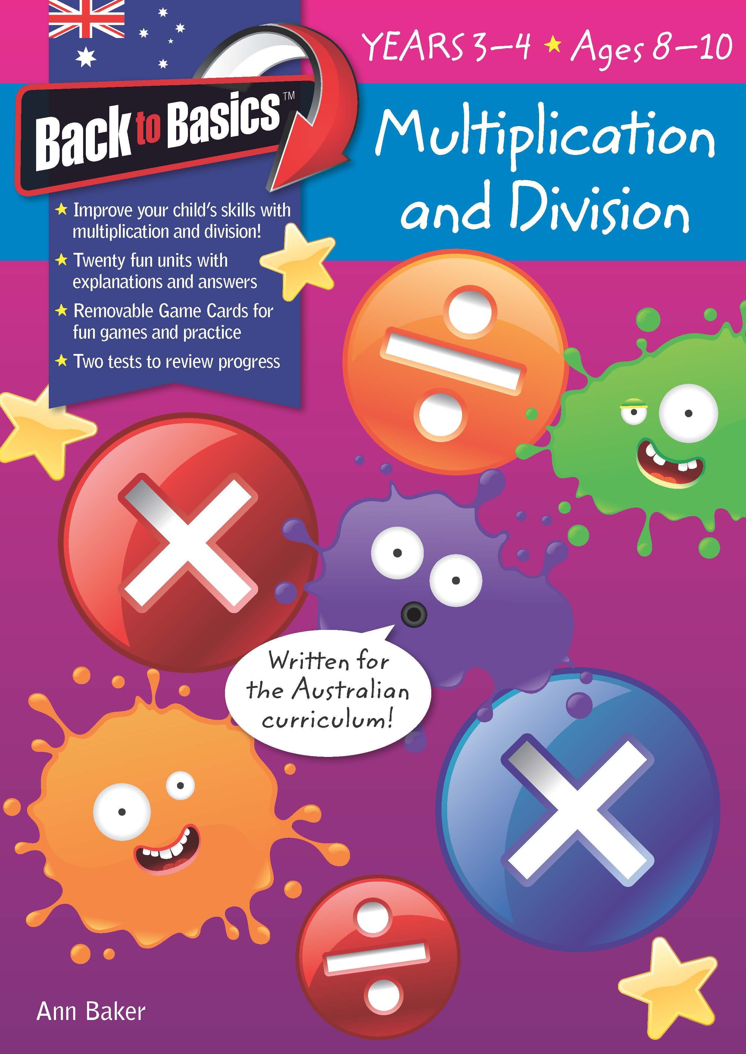 Back to Basics - Multiplication & Division Years 3-4