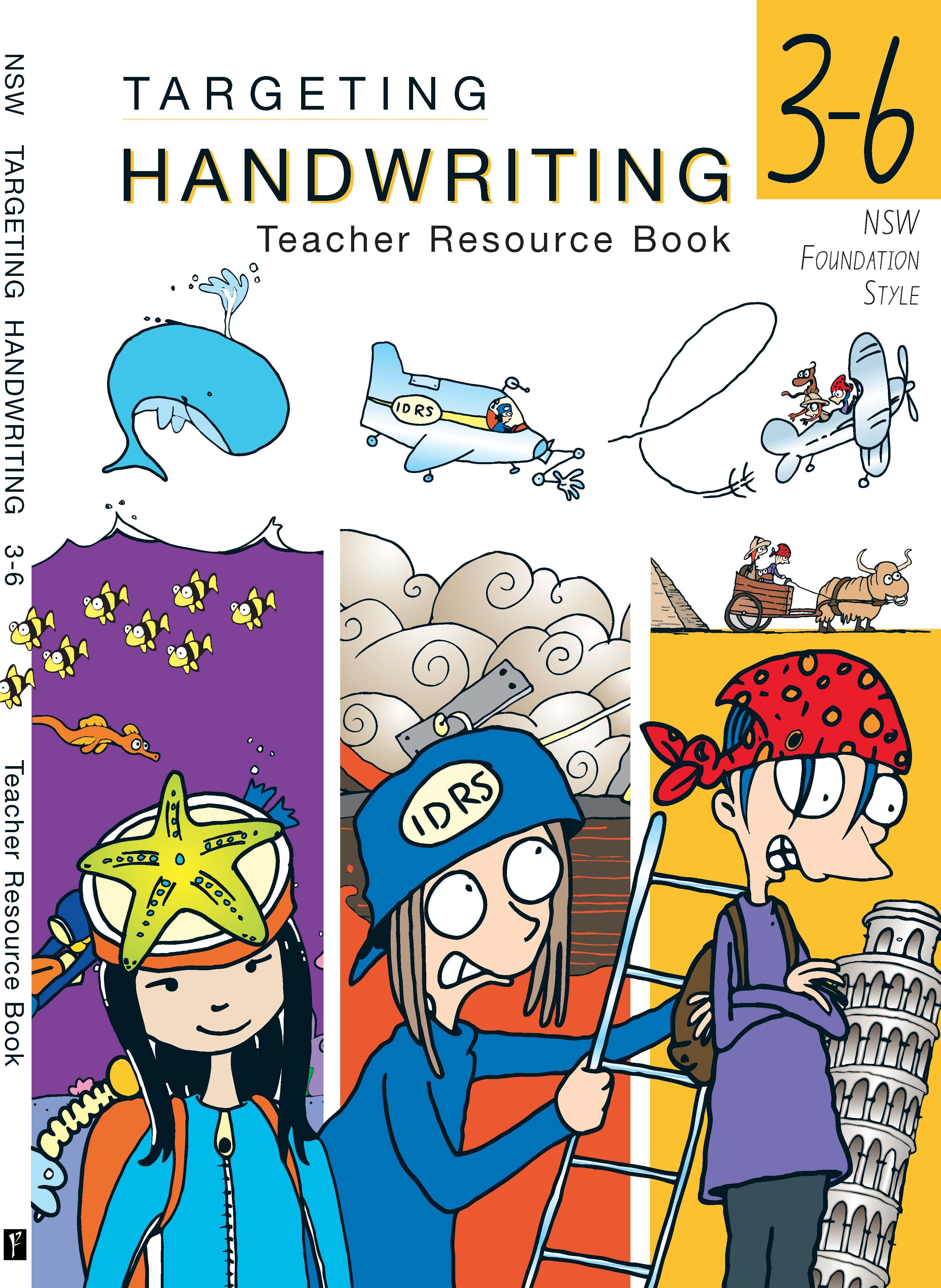 NSW Targeting Handwriting Teacher Resource Book Years 3-6