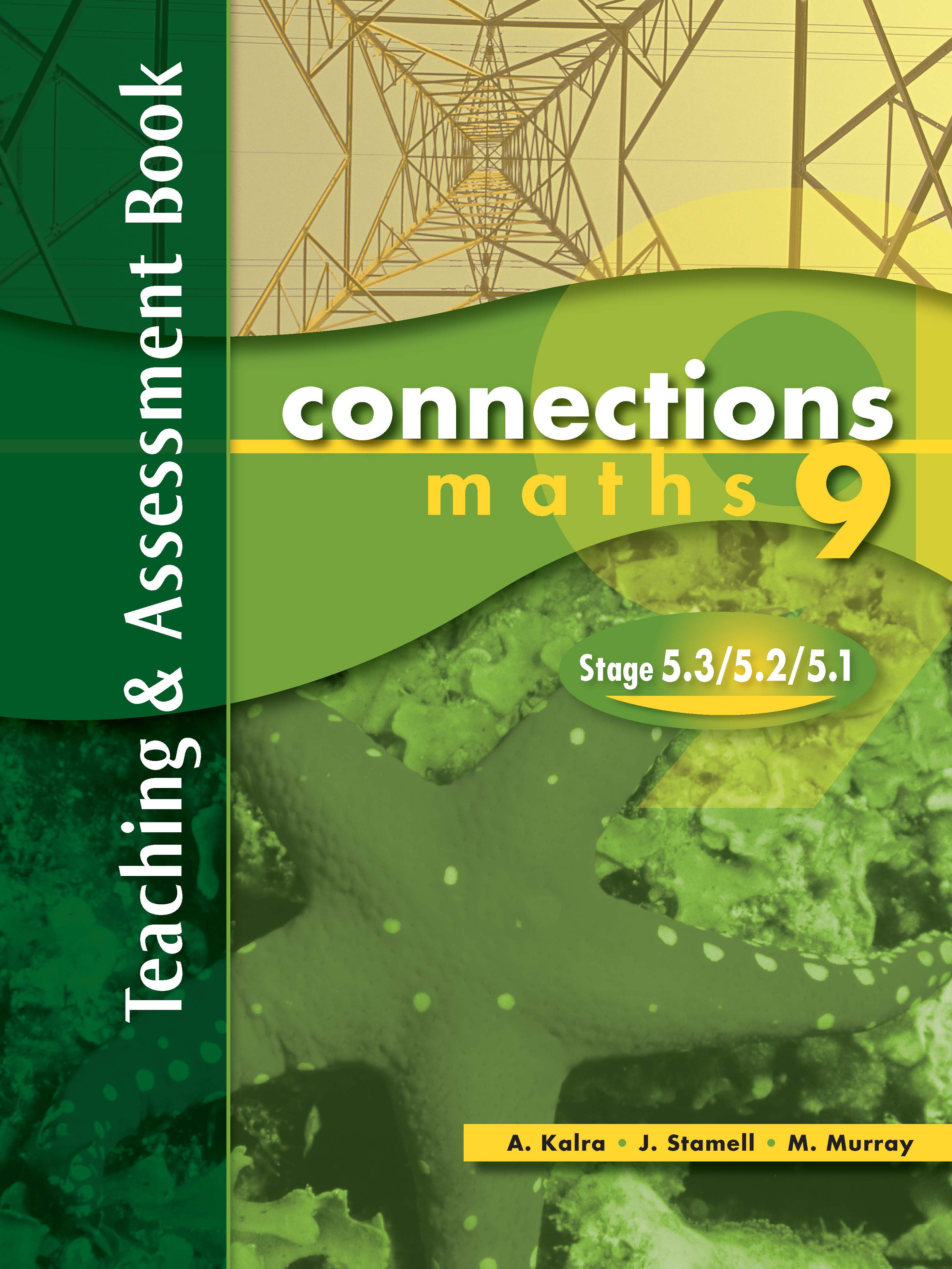 Pascal Press Connections Maths 9 Stage 5.3/5.2/5.1 Teaching & Assessment book Year 9