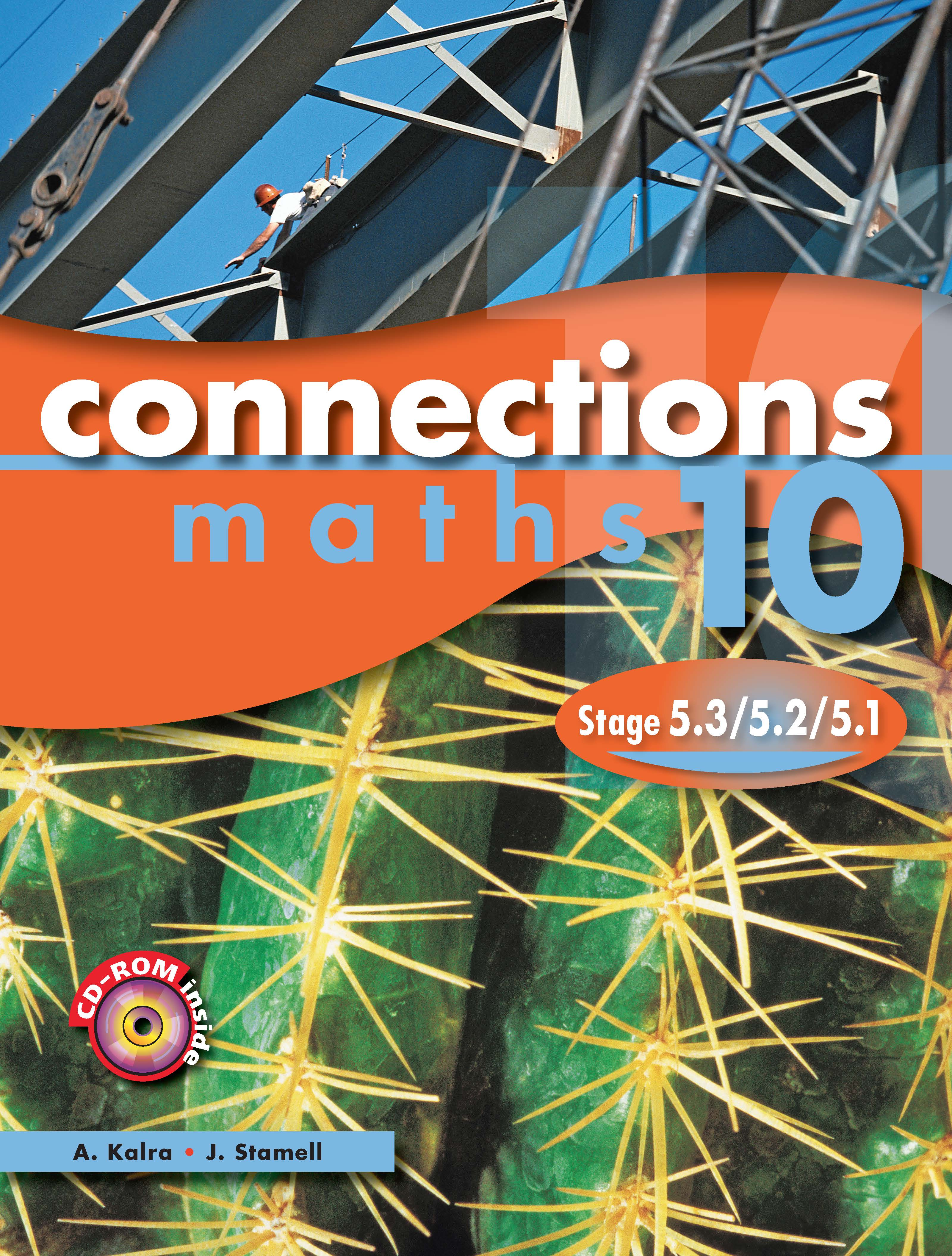 Pascal Press Connections Maths 10 Stage 5.3/5.2/5.1 Year 10