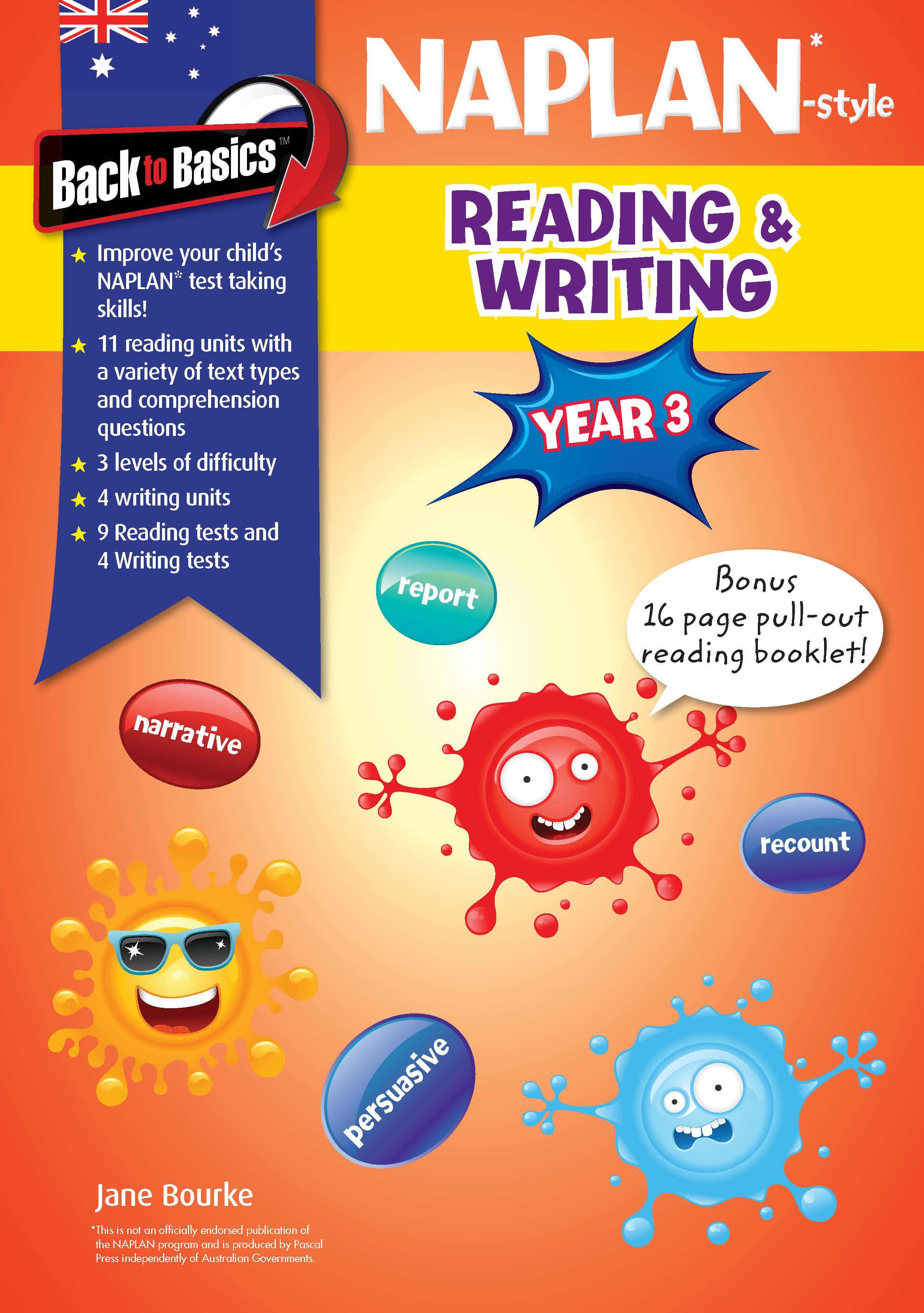 Back to Basics - Year 3 NAPLAN*-style Reading & Writing