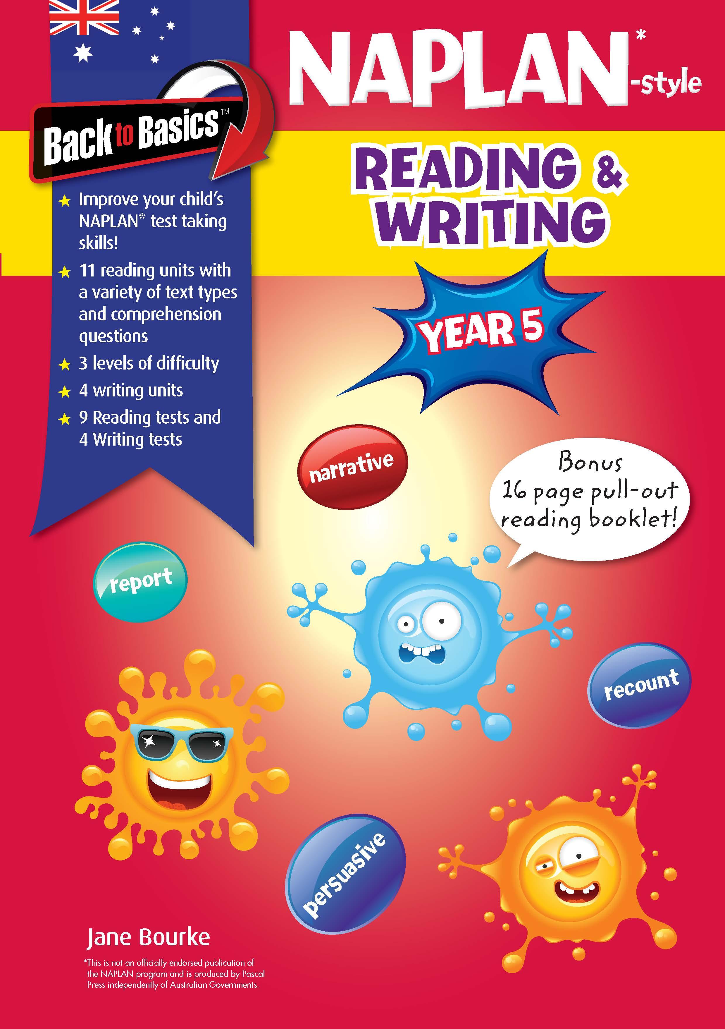 Back to Basics - Year 5 NAPLAN*-style Reading & Writing