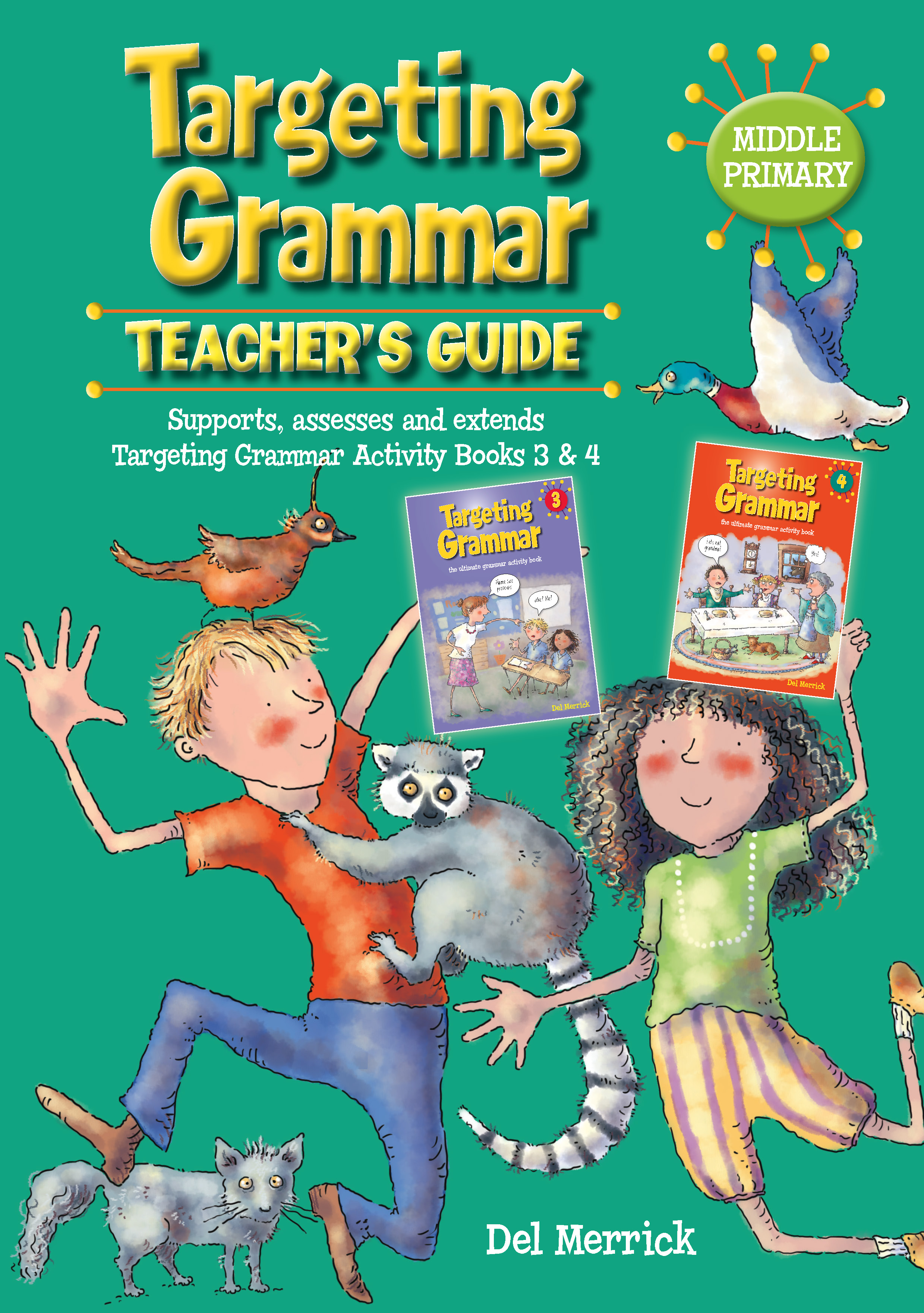 Targeting Grammar Teacher's Guide Middle Primary