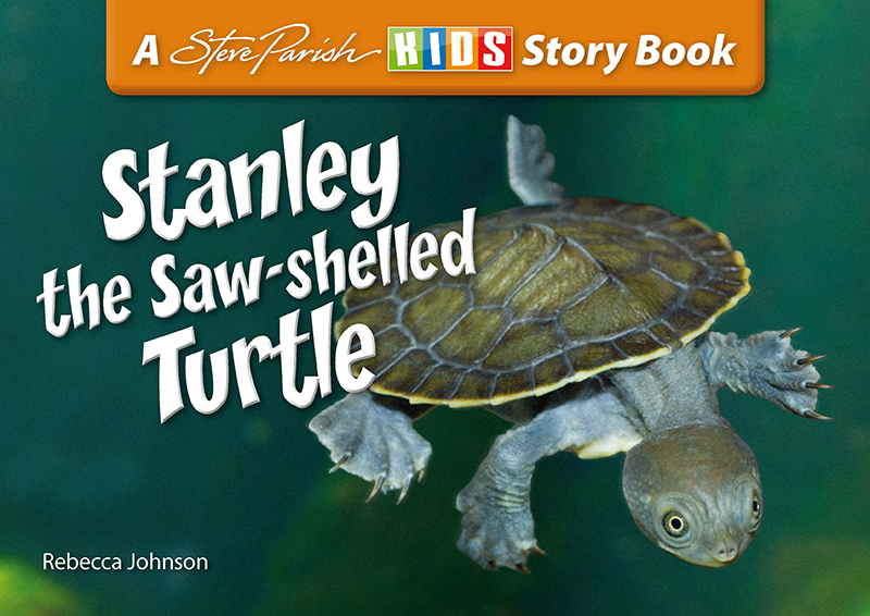 Steve Parish Reptiles & Amphibians Story Book: Stanley the Saw-Shelled Turtle