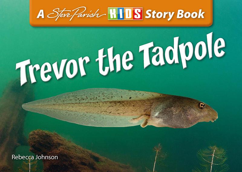 Steve Parish Reptiles & Amphibians Story Book: Trevor the Tadpole