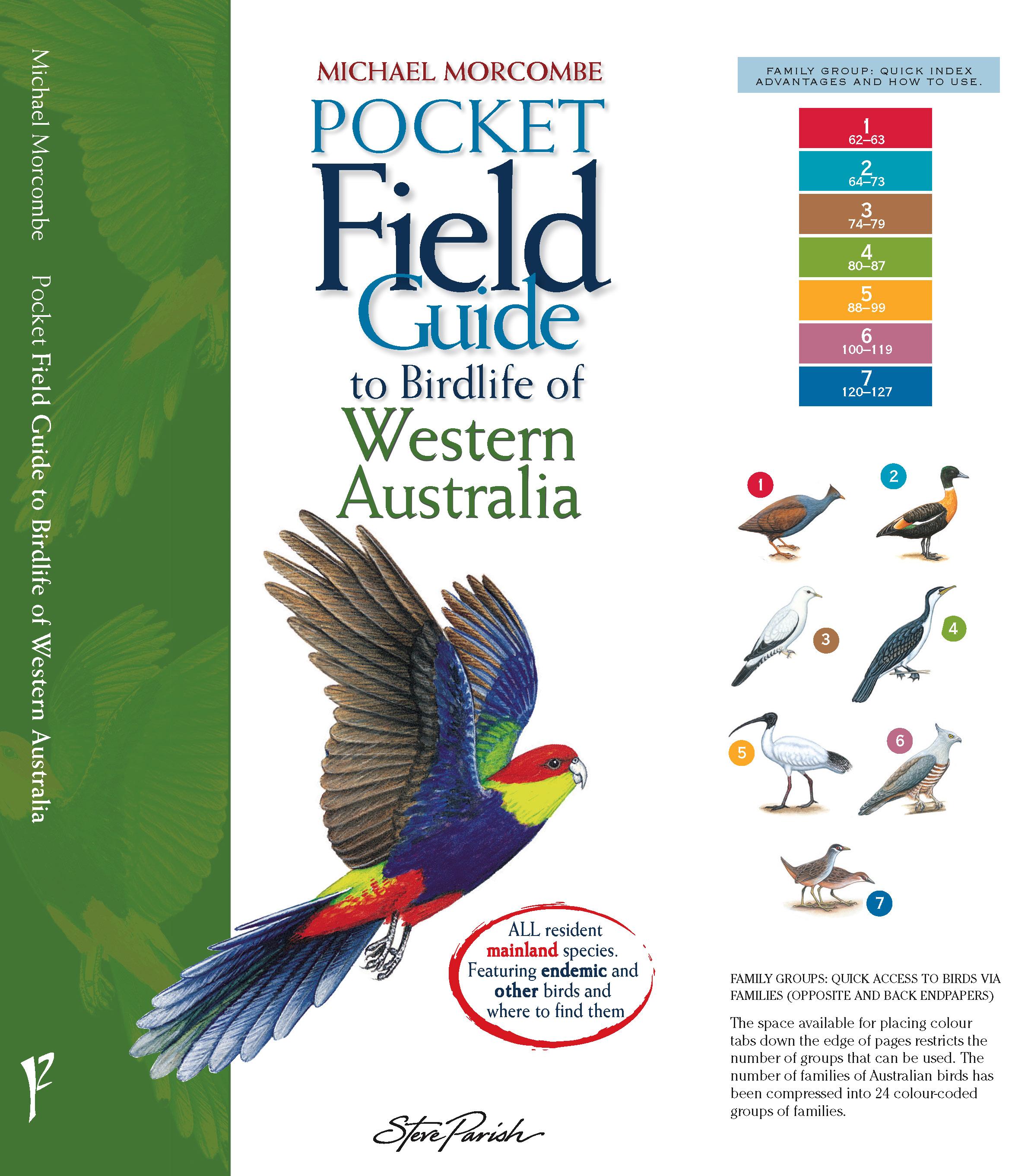 Steve Parish Pocket Field Guide: Birdlife of Western Australia