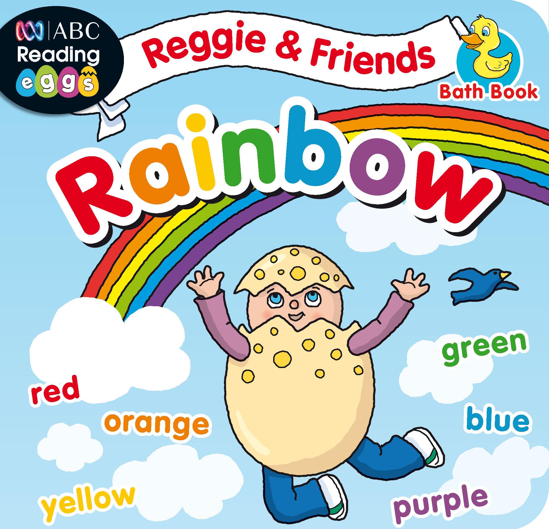 Picture of ABC Reading Eggs Bath Book - Reggie & Friends: Rainbow