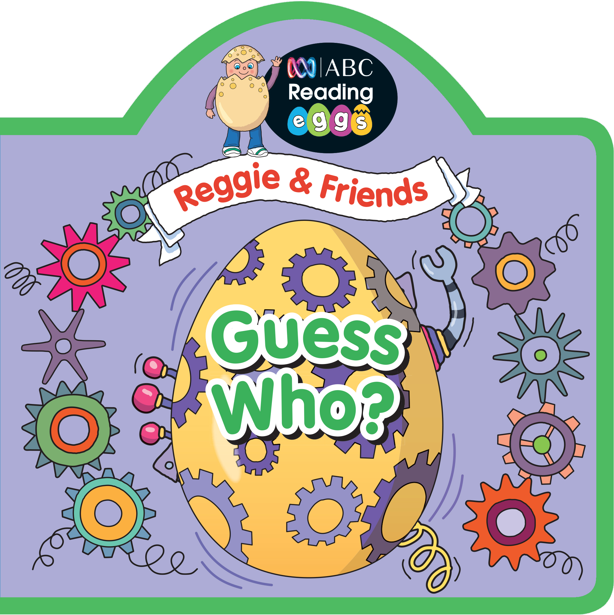 ABC Reading Eggs Puzzle Book - Reggie & Friends Guess Who?