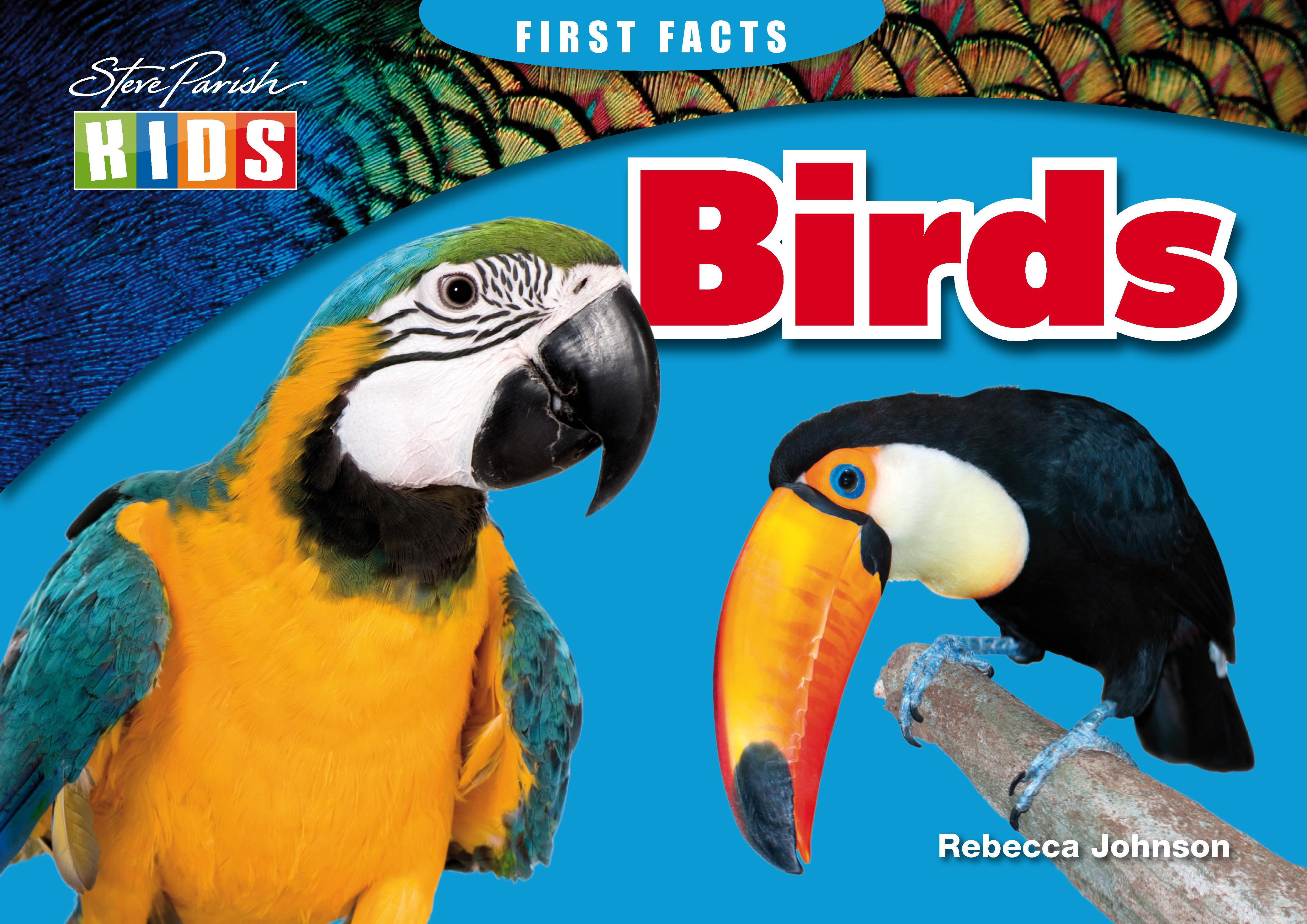 Steve Parish First Facts Story Book: Birds
